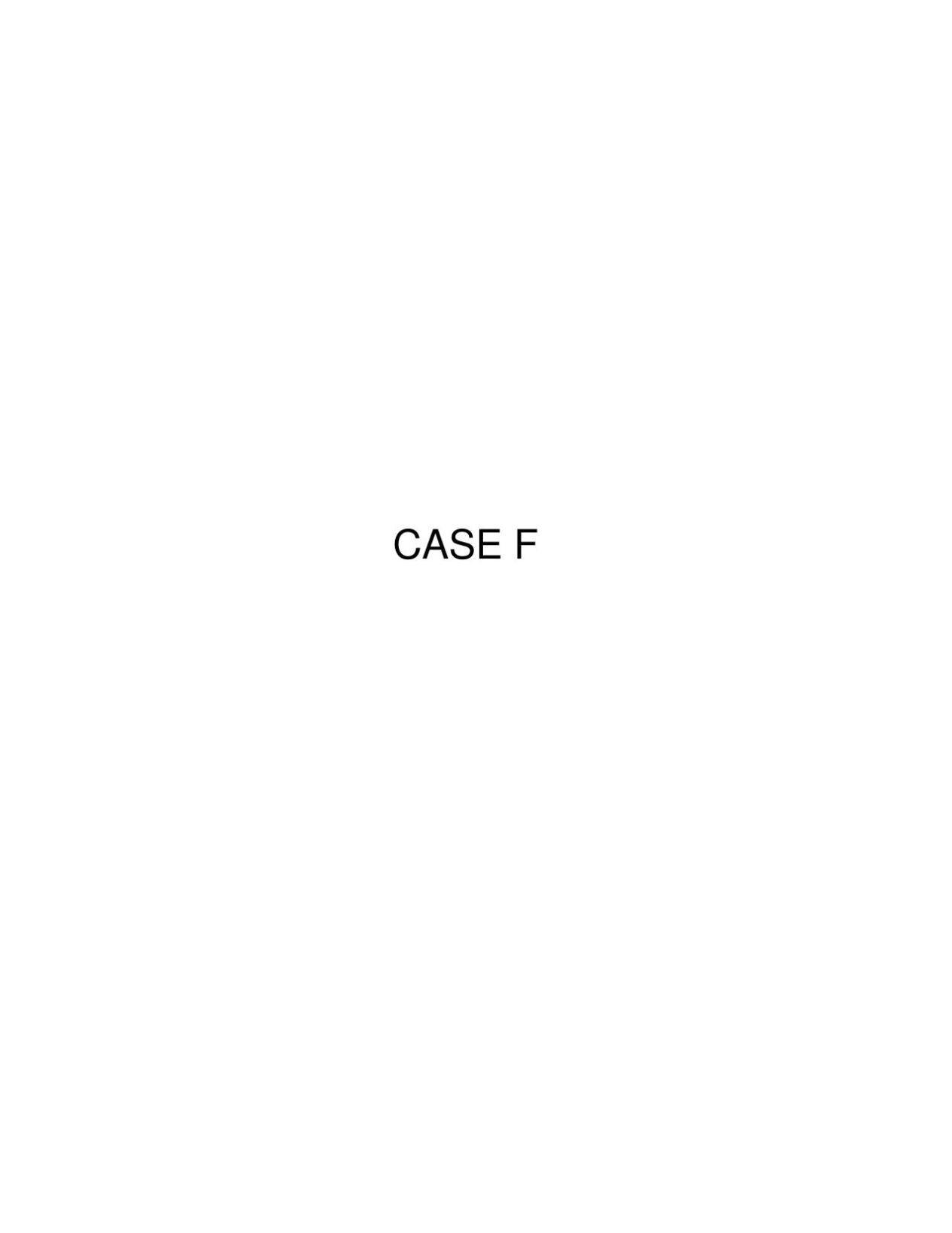 Case File F