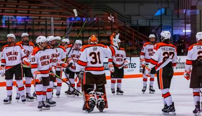 BGSU hockey vs. Mercyhurst