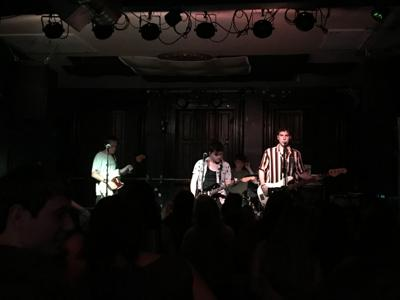 The Stolen on stage in Pittsburgh at The Smiling Moose