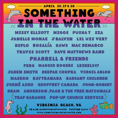 Something In The Water line-up