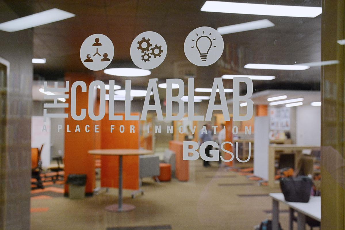 The Collab Lab has evolved from the STAC, located on the first floor of Jerome Library
