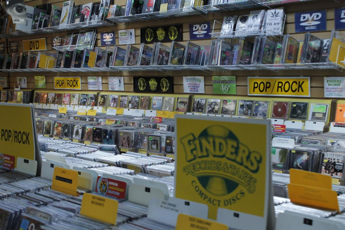 Finders Records has thousands of albums in store.