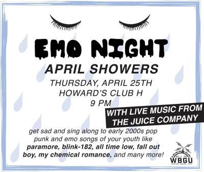 April Emo Night