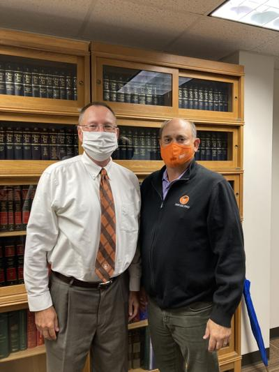 Attorney Rodney A. Fleming and Attorney Michael S. Skulina - Photo by Leah Shadle