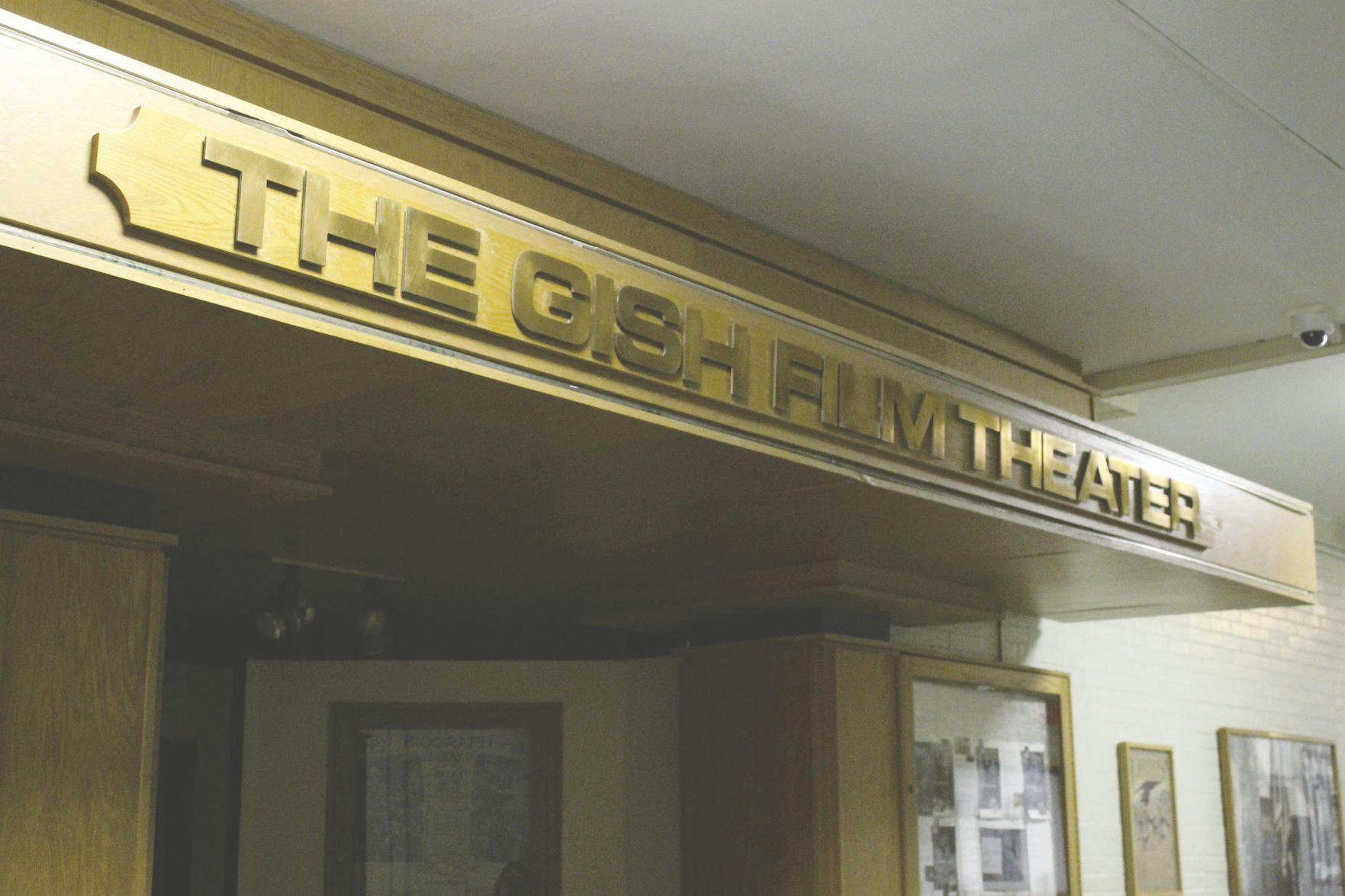 University officials ensure Gish Theater will remain
