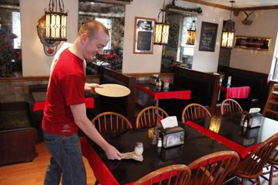 Many College Students Work As Servers To Pay Way Through