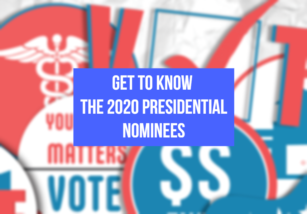 Presidential Nominees - Graphic by Andrea Kremer and Hunter Huffman