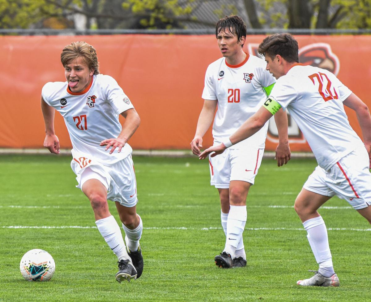 This past week in Falcon athletics: Men's soccer takes first place in the MAC