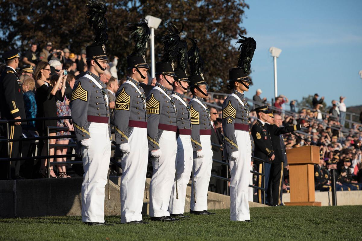 She's loved the Army-Navy game for years. At this year's, she will make history.