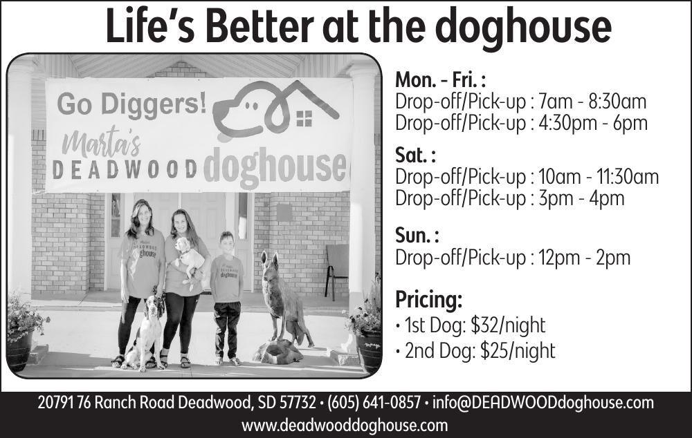 Marta's Deadwood Doghouse