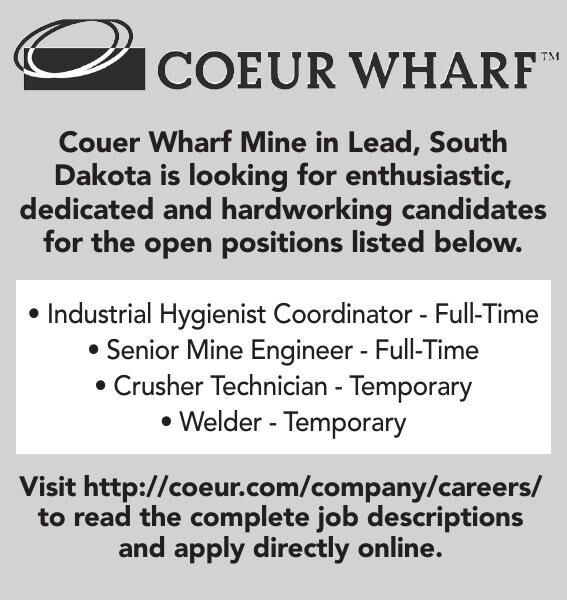 Couer Warf Mine Open Positions