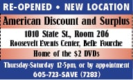 American Discount and Surplus