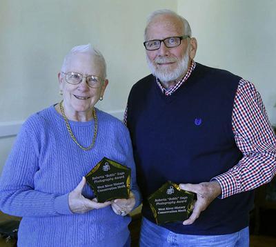 Farris, Muchow awarded Bobbi Sago Conservation Merits