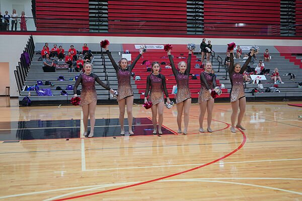 Sturgis Brown hosts cheer/dance competition