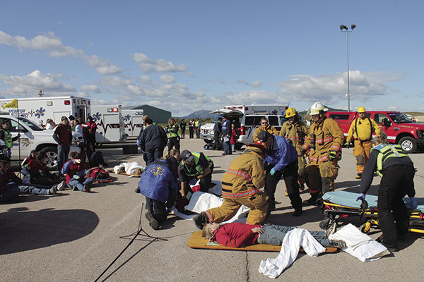 Emergency training gives responders hands on experience