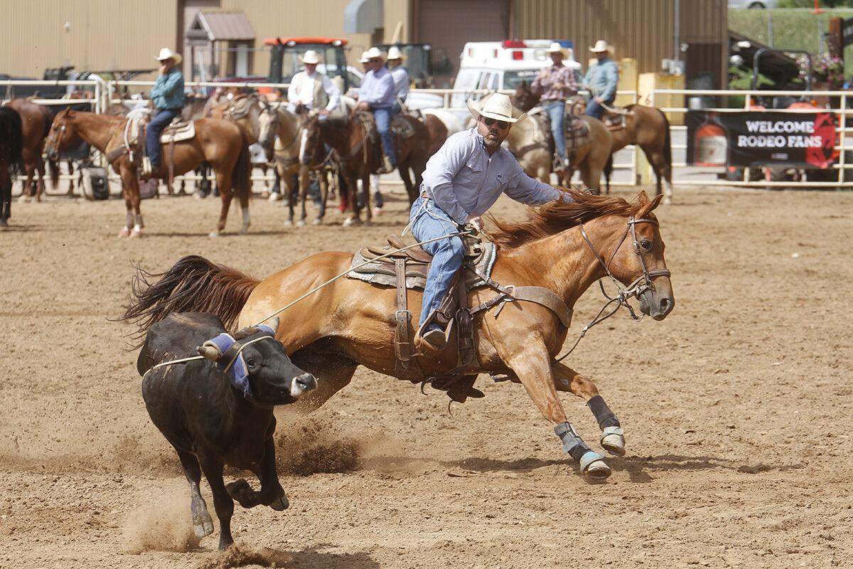Days of '76 Rodeo underway