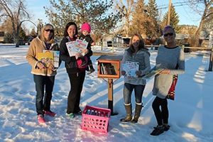 Kenadi Jean Weis Foundation donates 100 books to Little Free Libraries in Spearfish