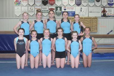 SGA qualifies 11 gymnasts for regional meet