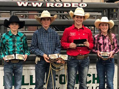 National Junior High School Rodeo Qualifiers Local