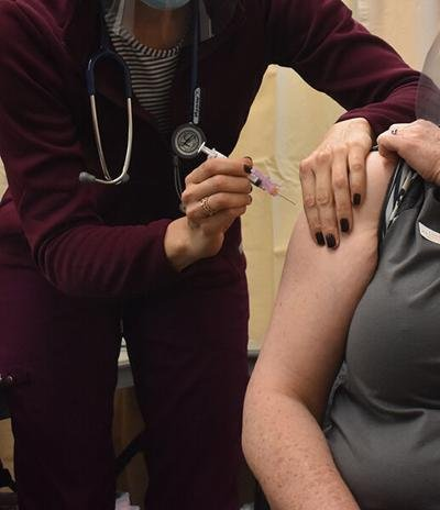 Beginning Monday, state vaccination age drops to 65