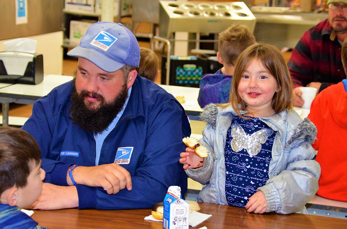 40 dozen served at Donuts for Dads
