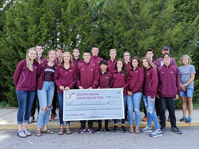 Spearfish Booster Club supports the Spartans cross country team