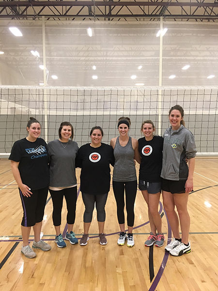 2019 BFACC fall volleyball champions