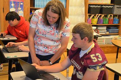 LDHS teacher Jake Gill grant recipient