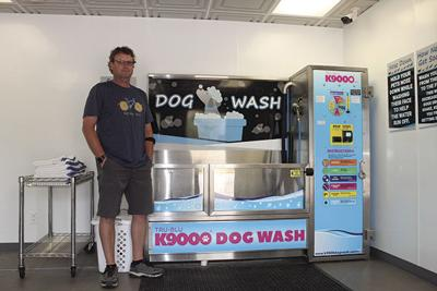Salty Dog Self Serve Dog Wash provides a new place to pamper your pooch