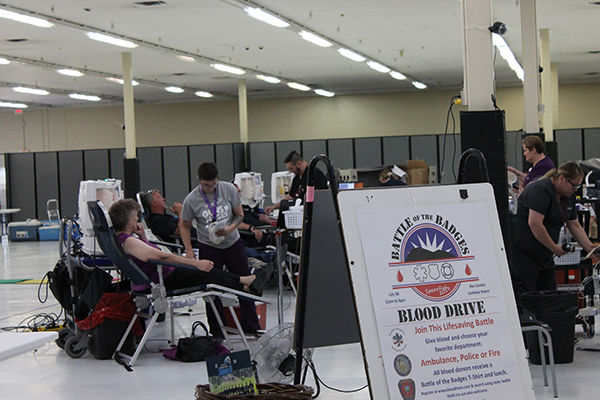 Battle of the Badges brings in blood donations Tuesday in Spearfish