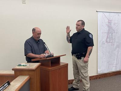 New officer sworn in for Belle Fourche Police Department