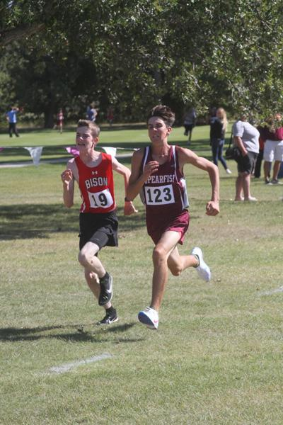 Area XC runners compete at Belle Fourche
