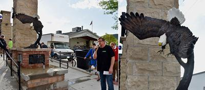 Sturgis unveils new Flying Freedom sculpture