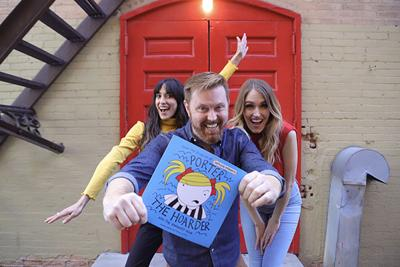 Hollywood producer pens children's book, morphs into statewide literacy promotion tool