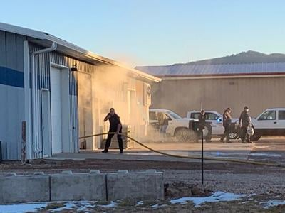 Quick response makes quick work of structure fire Monday