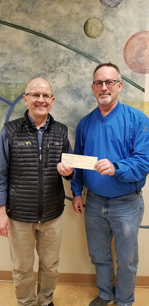 Friends of the NHTC Board donates $4,000