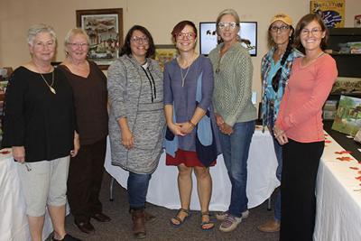 Artists enjoy Belle Fourche Arts Plein Aire event