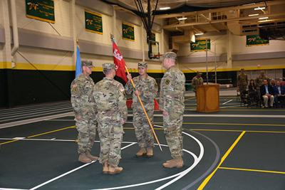 842nd Engineer Company welcomes new leadership