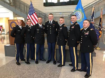 SD Army National Guard commissions 7 officers