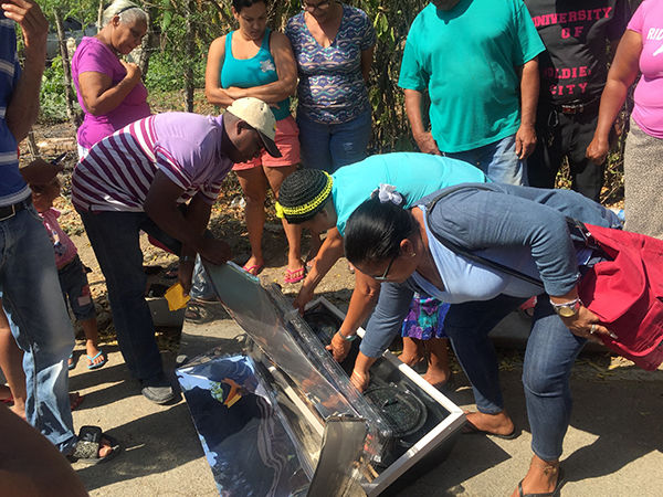 Hills residents share hope with Dominicans
