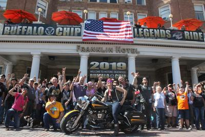 Legends Ride raises funds for museum, Special Olympics