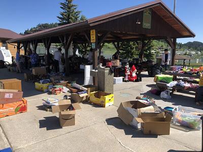 Rummage sales raise funds for non-profits