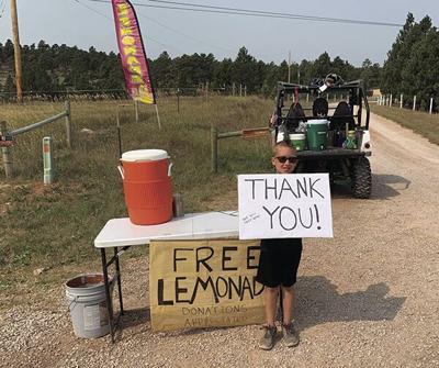 Wyatt's Lemonade Stand a rousing success