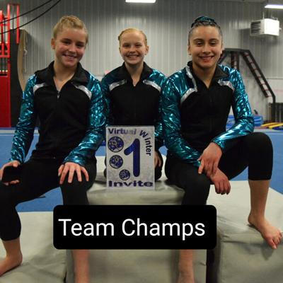 SGA gymnasts excel at West Chester Virtual Invitational