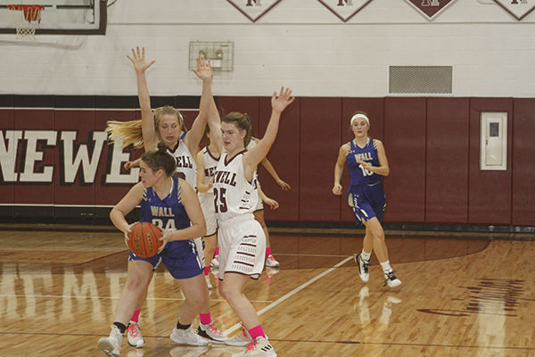 Newell girls topple Wall, improve to 6-1