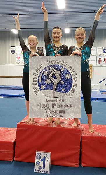 SGA hosts virtual Winter Gymnastics Invitational