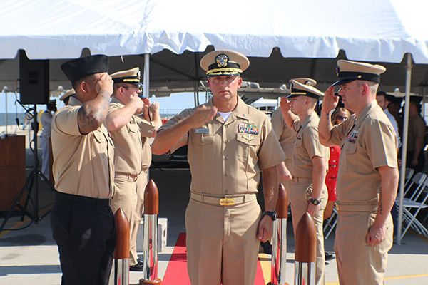 Spearfish native takes command of littoral combat ship