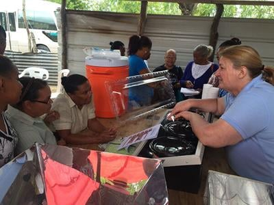 Solar Oven Partners to visit local churches