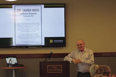 Longtime BHSU professor, philanthropist retires