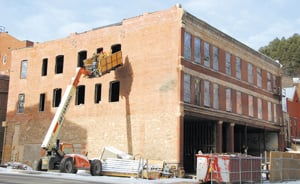 Pineview building nearly ready for winter